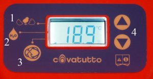 how to incubate chicken eggs: Covatutto 16L display