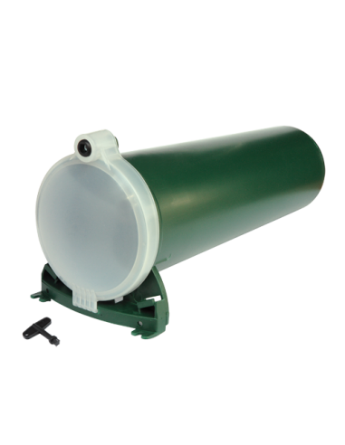 Cylinder-shaped rat trap, large